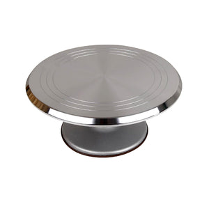 "Aluminum Cake Decorating Turntable 30cm (12"")"