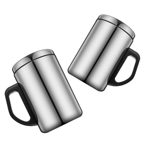 350ml/500ml Non-Magnetic Stainless Steel Insulated Thermal Tea Water Thermo Mug Double Layers