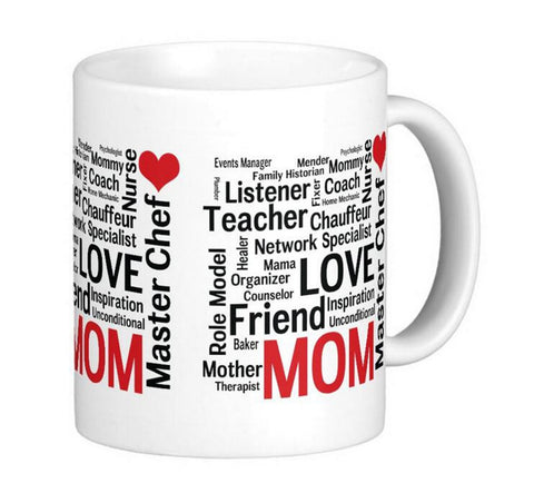 Mother's Day Amazing Multi-Talented Super Mom Classic DIY Coffee Mugs Tea Mugs Customize Personal Mug