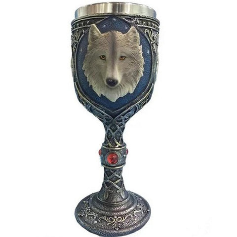 Super Awesome Gift Retro The Wolf Totem Mug Goblet 3D Design Ancient Cool Wolf Design Decorative Mug Nice Drinking Vessel Newest