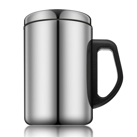 350ml Double Layers Readily Insulated Thermo-Cup Non-magnetic Stainless Steel Insulated Thermal Tea Water Thermo Mug