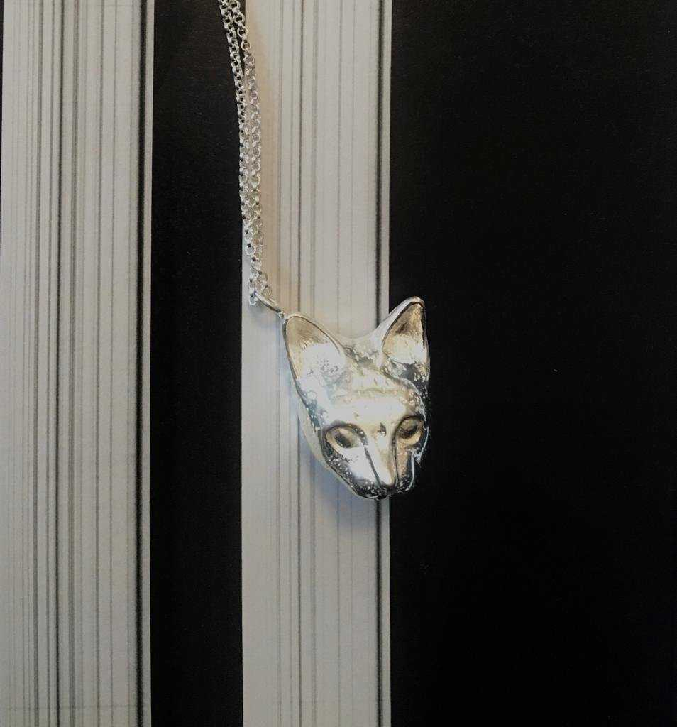 Mask of Cat Necklace