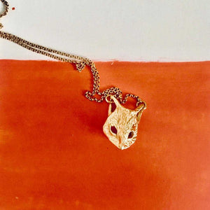 (A)symmetric Foxy Necklace