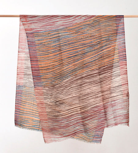 Printed Scarf - Earth