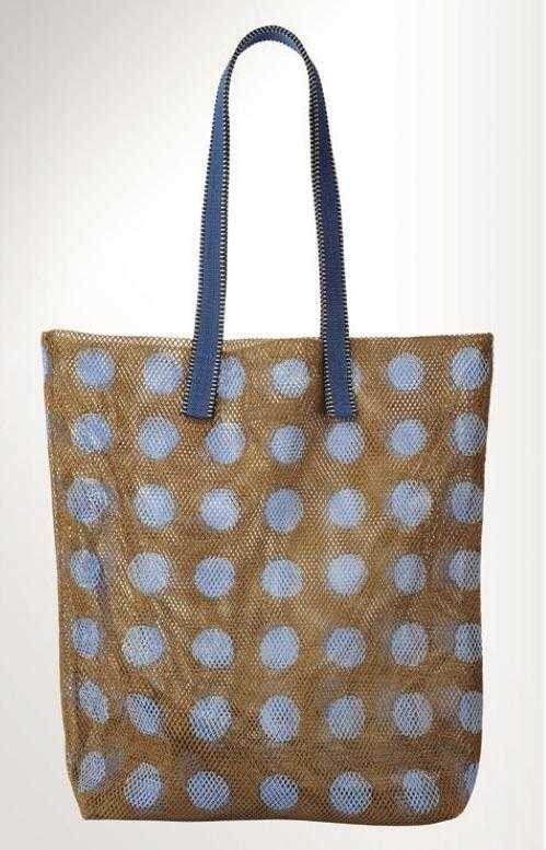 Mesh Bag - Large - Caramel