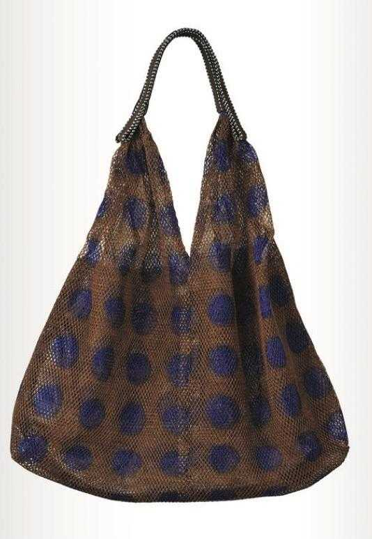 Mesh Bag - Small Triangular - Chocolate