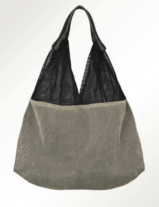 Mesh Bag - Small Triangular - Midnight