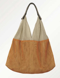 Mesh Bag - Small Triangular - Sand