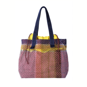 Small Mesh Shoulder Bag - Heather