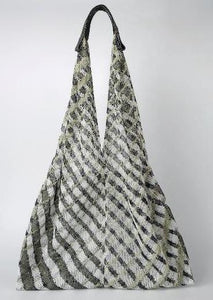 Mesh Bag - Triangular - Grey Twill