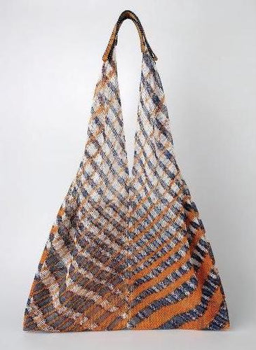 Mesh Bag - Triangular - Orange Twill