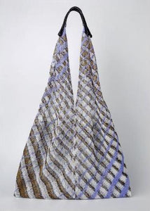 Mesh Bag - Triangular - Violet Twill