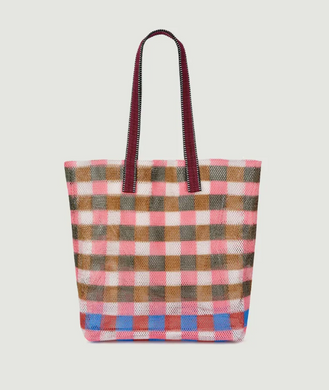 Mesh Bag - Classic - Coral Checkered