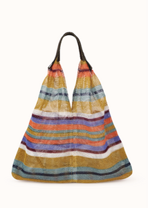 Mesh Bag - Triangular - Mimosa Striped