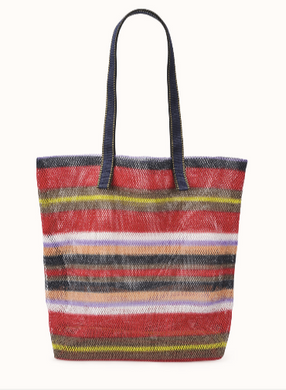 Mesh Bag - Classic - Rouge Striped