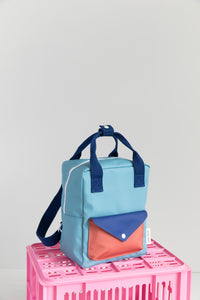 Sticky Lemon Small Envelope Backpack - Denim Blue