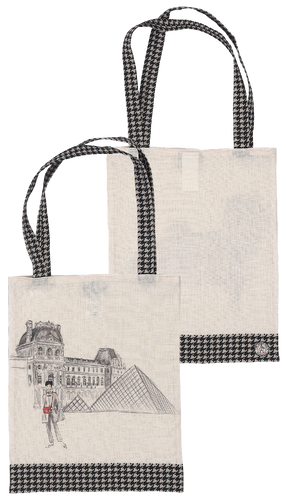 French Collection Tote Bag - Louvre Museum