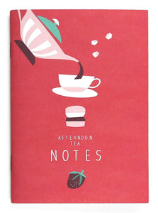 AFTERNOON TEA NOTES NOTEBOOK