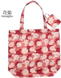 Japanese Eco-bag Hanagiku (Chrysanthemum)