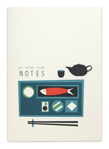 EAT, DRINK, THINK NOTES NOTEBOOK