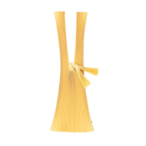 TATE-PLEATS LARGE - MUSTARD