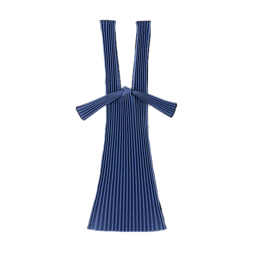 TATE-PLEATS SMALL - NAVY