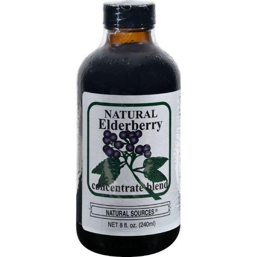 Natural Sources Elderberry Concentrate - 8 fl oz