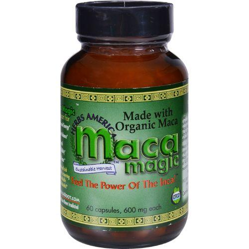 Maca Magic - Organic - 600 mg - 60 Capsules