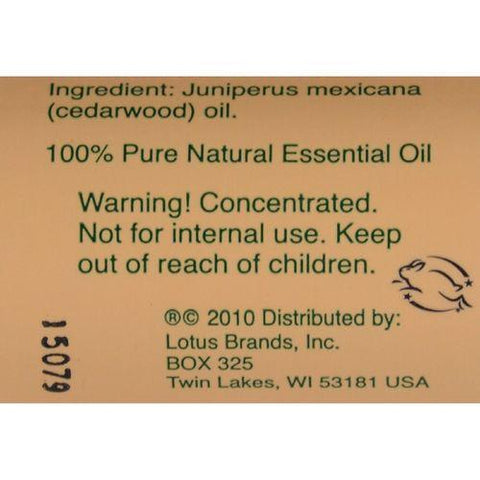 Nature's Alchemy 100% Pure Essential Oil Cedarwood - 0.5 fl oz