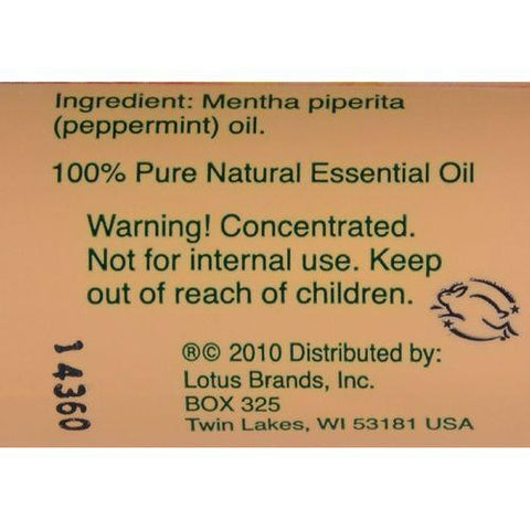Nature's Alchemy 100% Pure Essential Oil Peppermint - 0.5 fl oz