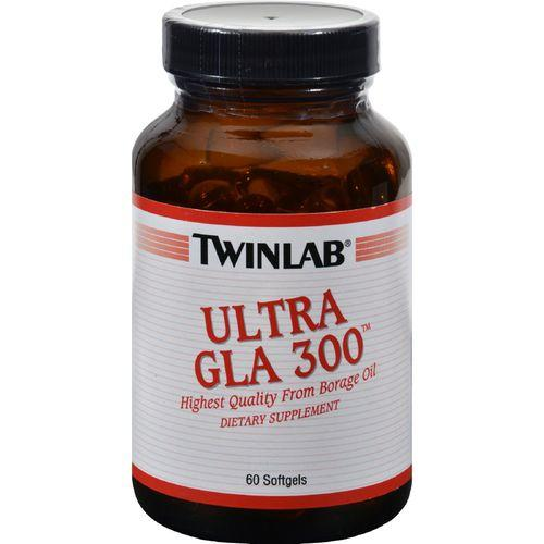 Twinlab Ultra GLA 300 - 300 mg - 60 Softgels