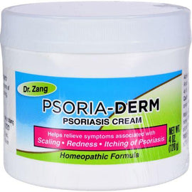 Dr. Zang Homeopathic Psoria-Derm Cream - 4 oz