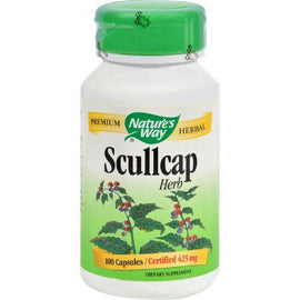 Nature's Way Scullcap Herb - 100 Capsules