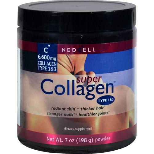 NeoCell Super Collagen Type 1 and 3 Powder - 6600 mg - 7 oz