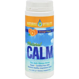 Natural Vitality Natural Magnesium Calm Orange - 8 oz