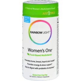 Rainbow Light Women's One Food-Based Multivitamin - 90 Tablets