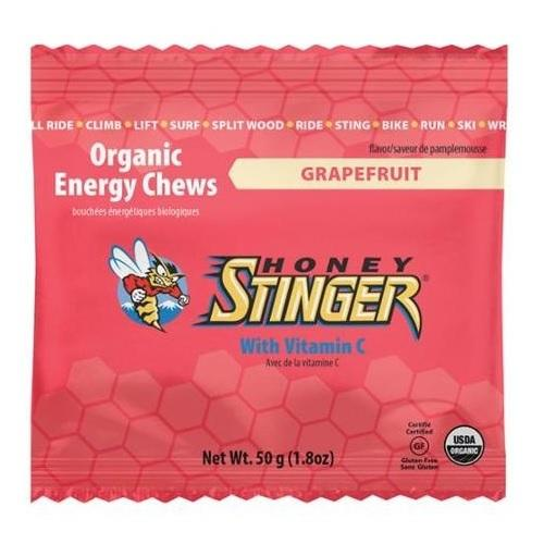Honey Stinger Organic Energy Chews Grapefruit (12x1.8 OZ)