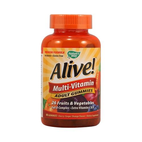 Nature's Way Alive! Multi-Vitamin Adult Gummies (90 Gummies)
