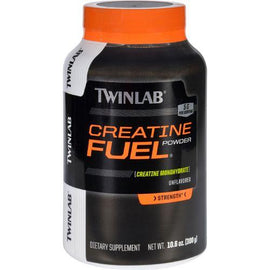 Twinlab Creatine Fuel  Powder  Unflavored  10.6 oz