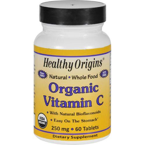 Healthy Origins Vitamin C  Organic  250 mg  60 Tablets