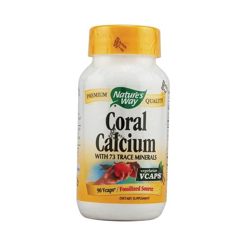 Nature's Way Coral Calcium with 73 Trace Minerals (90 Veg Capsules)