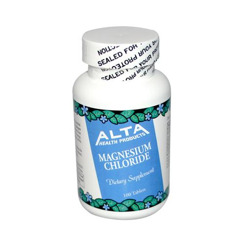Alta Health Products Magnesium Chloride (1x100 Tablets)