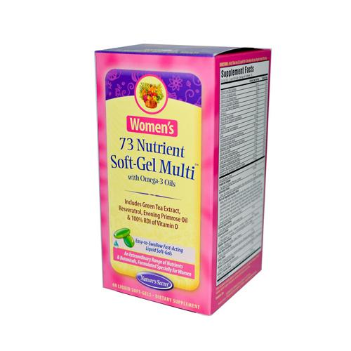 Nature's Secret Women's 73 Nutrient Soft-Gel Multi (60 Softgels)