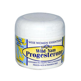 Wise Essential Wild Yam and Progesterone Cream 2 Oz