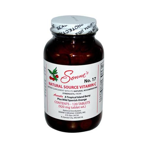 Sonne's Natural Source Vitamin C No 17 (1x120 Tablets)