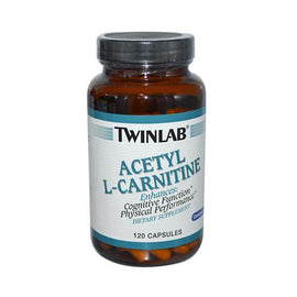 Twinlab Acetyl L-Carnitine 500 mg (120 Capsules)
