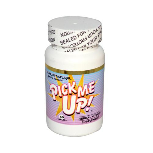 California Natural Pick Me Up Vitamin (60 Capsules)
