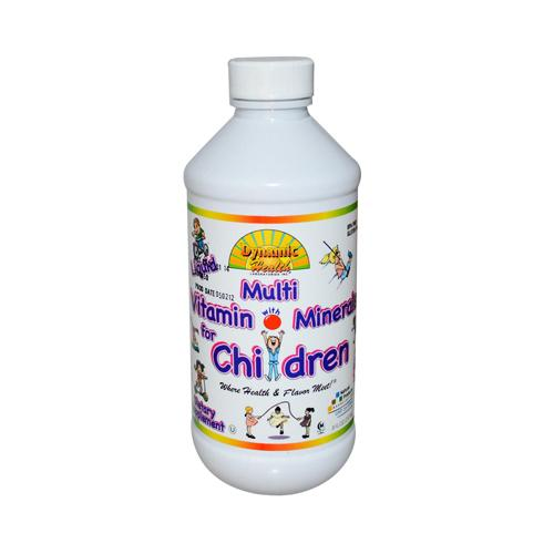 Dynamic Health Liquid Multi Vitamin with Minerals for Children (8 fl Oz)