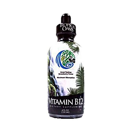 Tropical Oasis Vitamin B12 Dropper Strawberry (4 fl Oz)