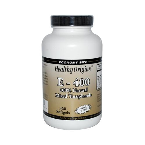 Healthy Origins E-400 400 IU (360 Softgels)